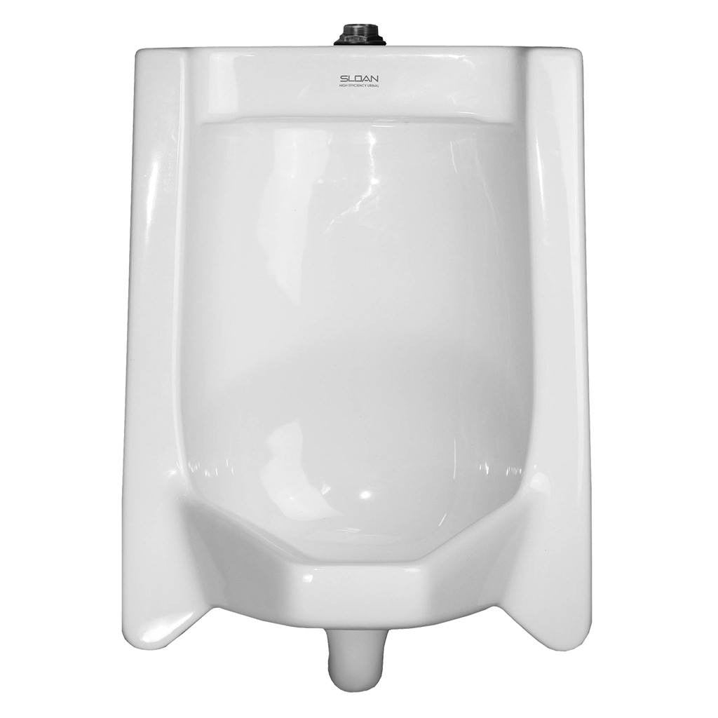 Complete Vitreous China Top Spud Urinal - 0.125 - 0.5 GPF
