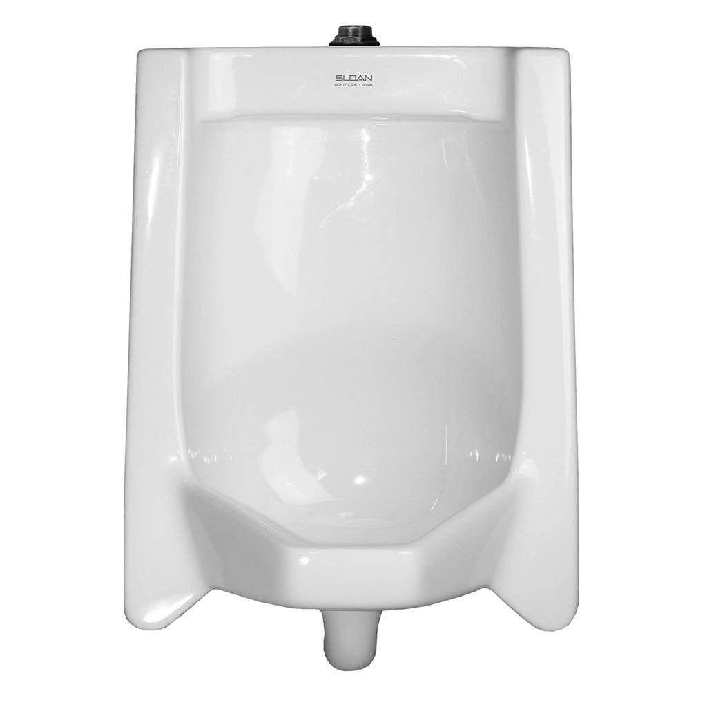 Complete Vitreous China Top Spud Urinal - 0.5 GPF