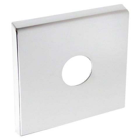 Sloan Chrome Cover Plate with Mounting Hardware for Sensor Flushometer Wall Button