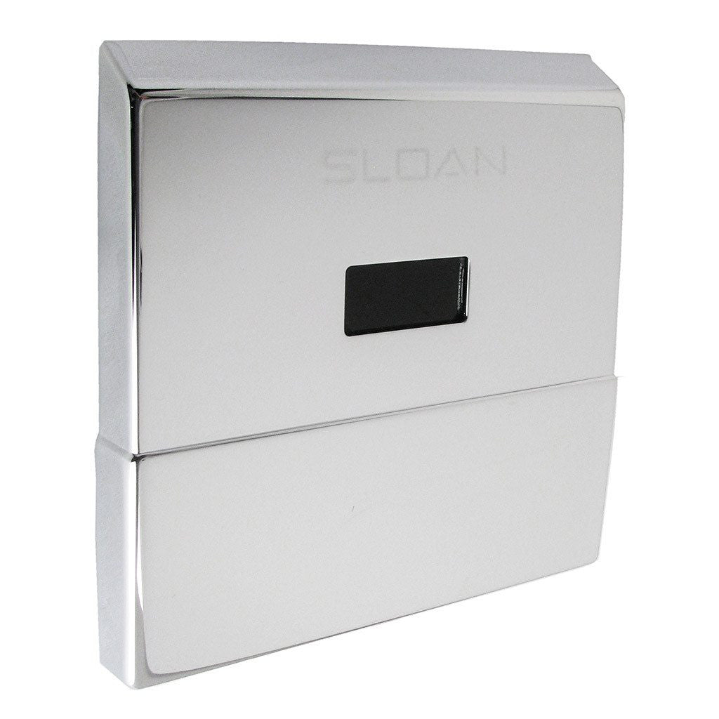 Sloan Sensor Flushometer Cover Plate with Sensor Assembly Chrome Wall Cover