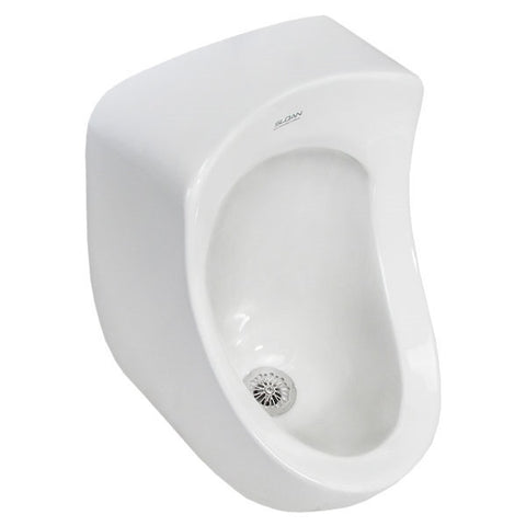 Sloan Rear Spud Urinal One Gallon Per Flush