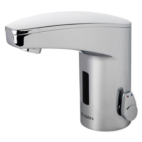 Optima Plus Sensor Faucet w/ Integral Spout Mixer - 0.5 GPM (Battery Powered)