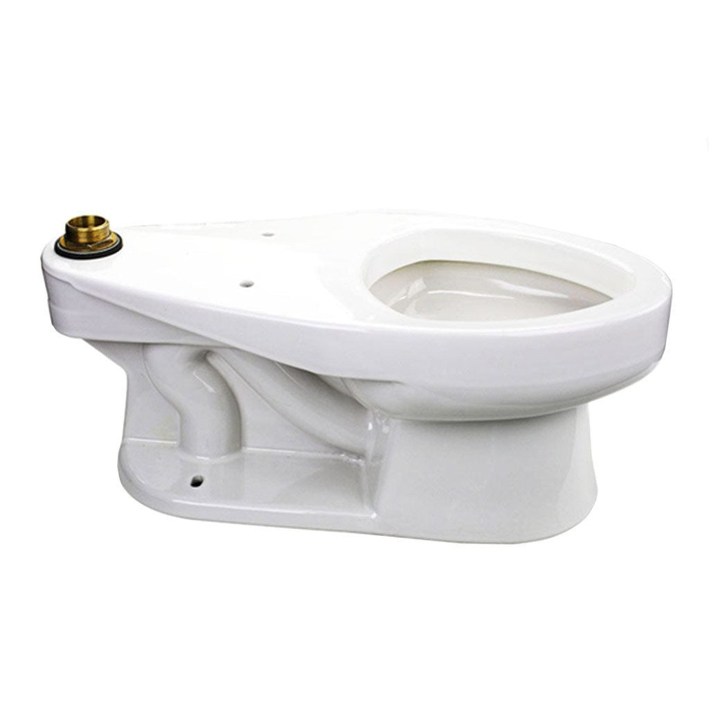 sloan junior toilet elongated bowl top spud