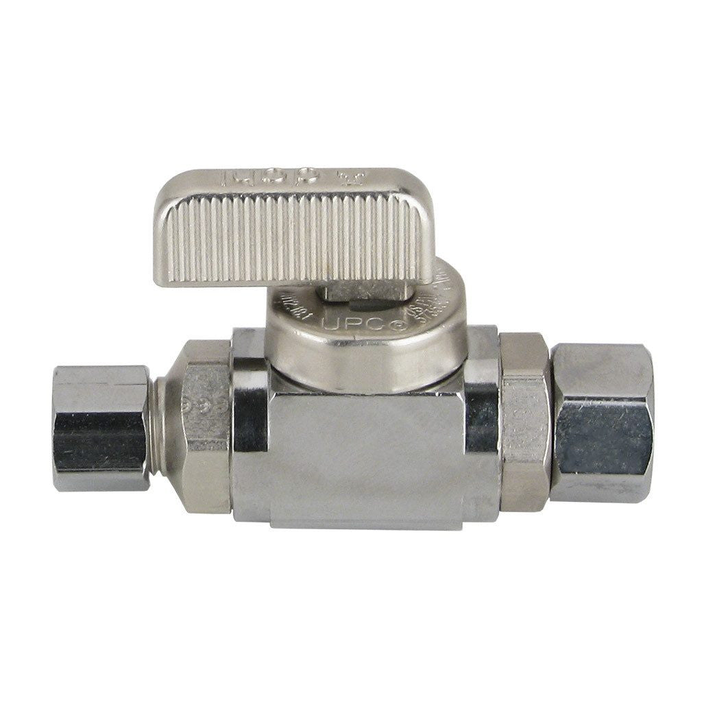 Straight Stop Valve Ball Type