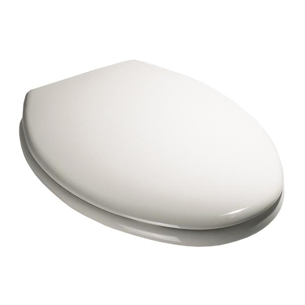 Church Toilet Seat - Elongated Closed Front with Lid