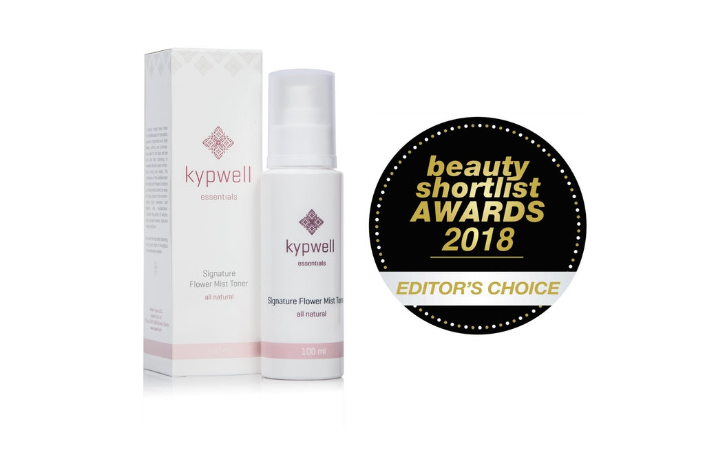 Editor's Choice Award from the Beauty Shortlist