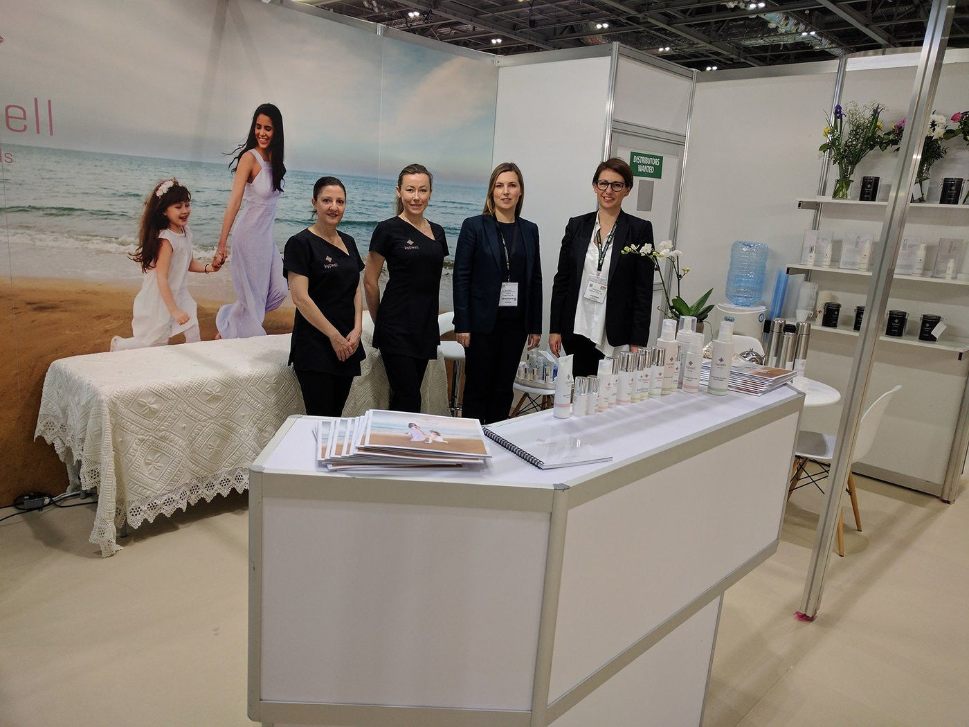 Launch of Kypwell at the Natural & Organic Products Exhibition Europe