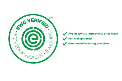 Signature Flower Mist Toner has earned the EWG VERIFIED: For Your Health™ mark