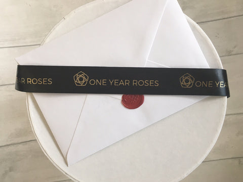 gift card 1 year roses