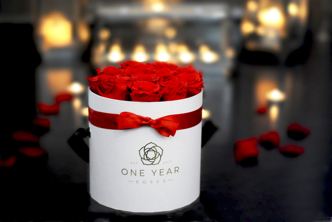 One Year Roses Gift card
