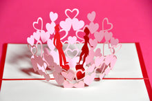 Lovers POP-UP 3D Card