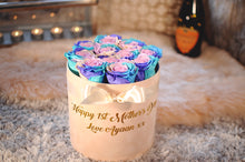 Personalised Signature Round Box - Lasts 1 Year