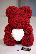 Love Heart Rose Bear