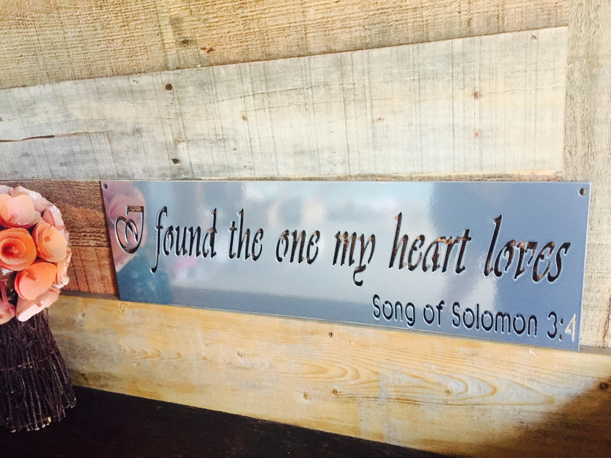 The Metal Word - Custom Metal Signs, Personailzed and Faith Based