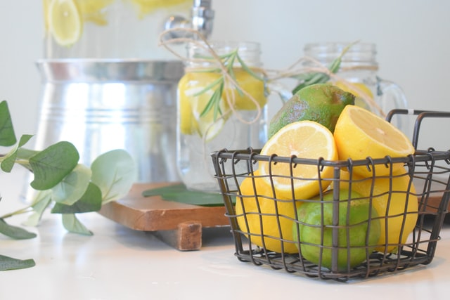 basket of lemons and limes