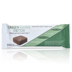 Green Gone Detox Protein and Fiber Bar - Chocolate Brownie