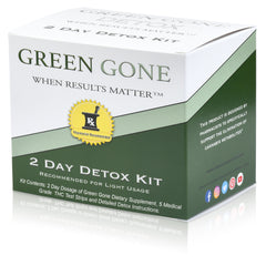 2 Day THC Detox Kit with 5 THC Test Strips