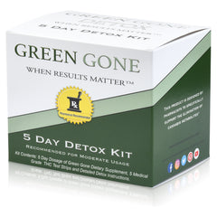 5 Day THC Detox Kit with 5 THC Test Strips