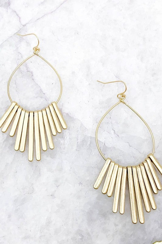 Multi Bar Earrings