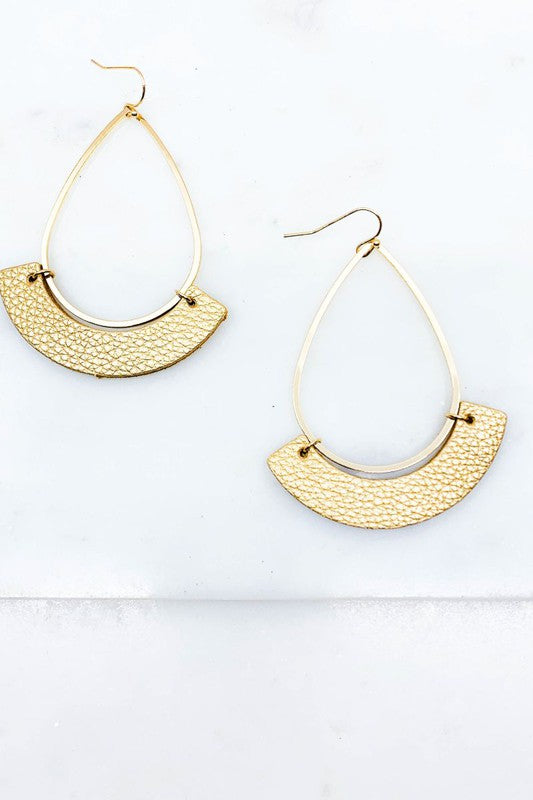 Tear Panel Earring