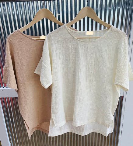 Deal of the Day Gauze Top *Final Sale*