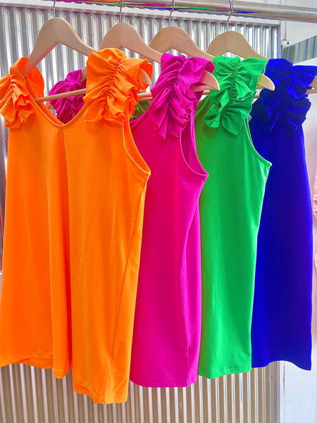 Deal Of The Day *Knit Ruffle Tank* Final Sale