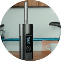 Dry-Herb-Vaporizer-Kitchen-Table