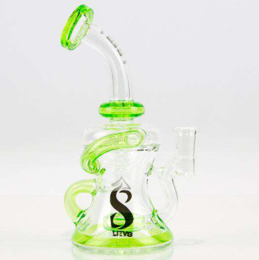 4 Hole Cheese Recycler Dab Rig