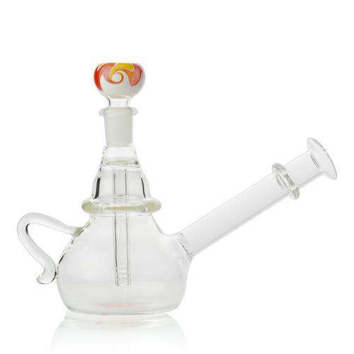 6 Inch Teapot Bong w/ Colored Accents