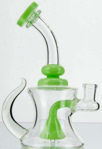 Mini Tube Beaker Perc with Horn