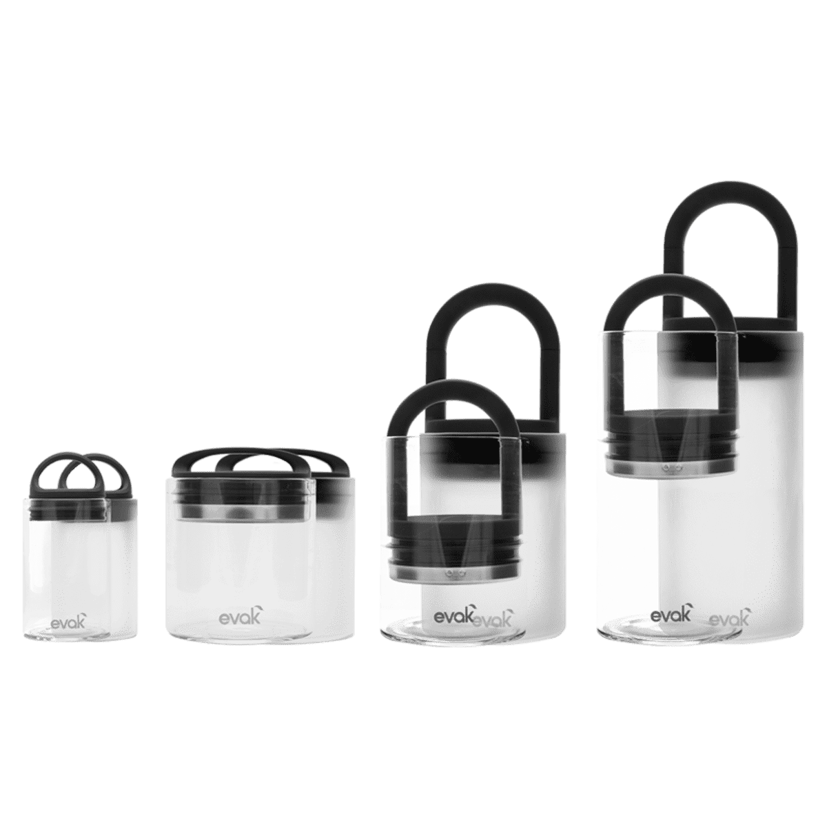 EVAK Compact Glass Container