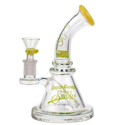 Cheech & Chong Strawberry Round Base Bong