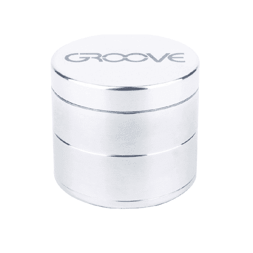 4-Piece Aerospaced GROOVE Grinder - Silver