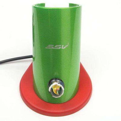 7th Floor Silver Surfer Vaporizer Ground Glass - Colored - Green