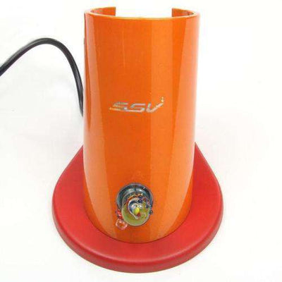 7th Floor Silver Surfer Vaporizer Ground Glass - Colored - Orange