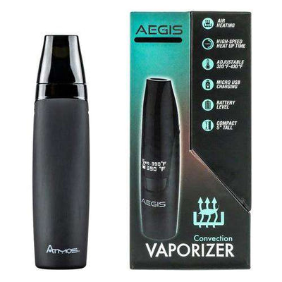 Atmos Aegis Vape Pen - Back Profile with Box