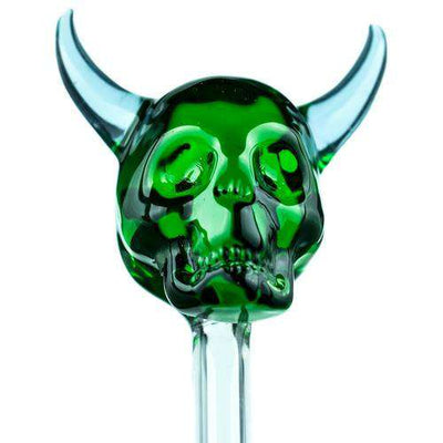 Boo Glass Horned Skull Dabber-
