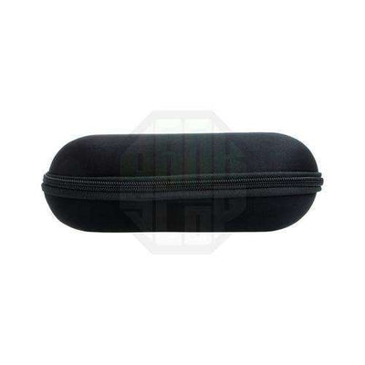 Boo Glass Large Pipe Case-Black