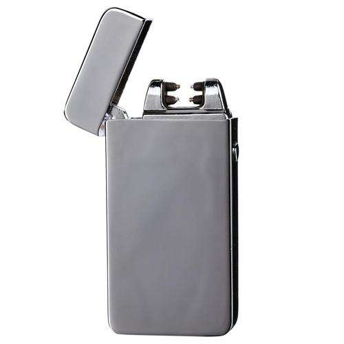 Boo Glass Plasma Lighter-Silver