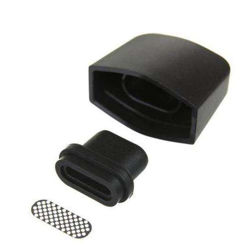 Boundless CFC replacement Mouthpiece Black - Front Profile