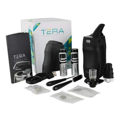 Boundless Tera Portable Vaporizer - Box and Accessories