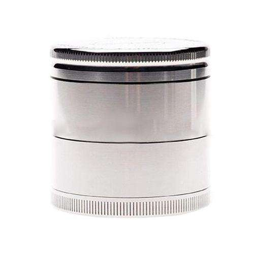 "Cosmic 1.6"" Mini 4-Piece Grinder-Classic Silver"
