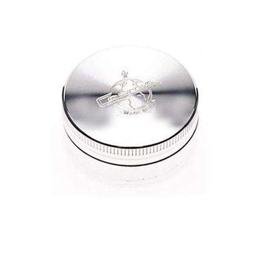 "Cosmic 2.1"" Small 2-Piece Grinder-Classic Silver"