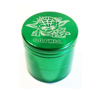 "Cosmic 2.1"" Small 4-Piece Grinder-Yoda ""Limited Edition"""