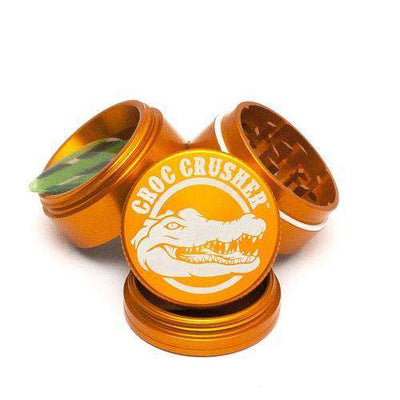 "Croc Crusher 1.5"" 4-Piece Grinder-Orange"
