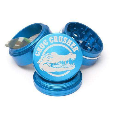"Croc Crusher 2.0"" 4-Piece Grinder-Turquoise"