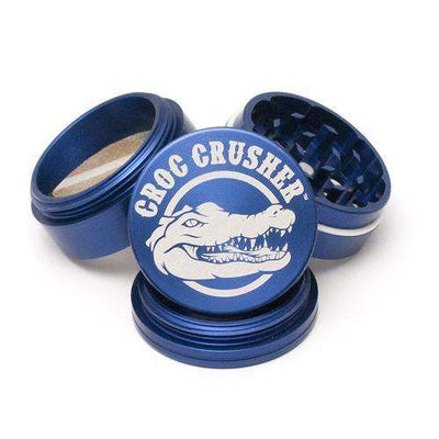 "Croc Crusher 2.2"" 2-Piece Grinder-Blue"