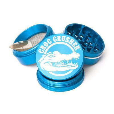 "Croc Crusher 2.2"" 4-Piece Grinder-Turquoise"