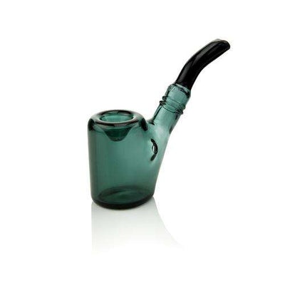 "GRAV 4"" Sitter Sherlock Pipe - Lake Green"