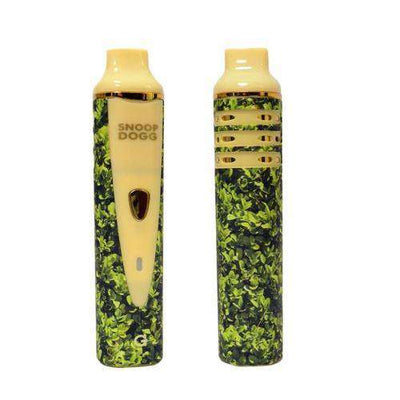 Grenco Science Snoop Dogg Bush G Pro Vape - Front and Back profile